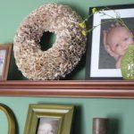 Rosette Bookpage Wreath