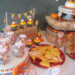 Candy Corn Birthday Party