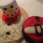 Santa Belt and Snowman Cookies