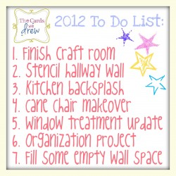 2012 To Do's