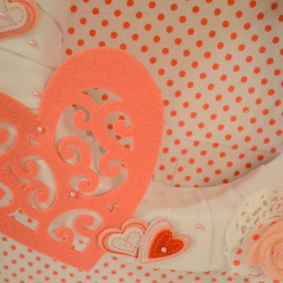 Pretty in Pink Valentine's Wreath
