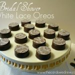 Bridal Shower White Lace Oreos