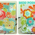 Craft-O-Maniac Contributor Post: Mod Podge Plates