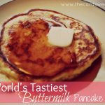 World's Tastiest Buttermilk Pancake Recipe