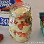 Strawberry Vanilla Pound Cake Trifles