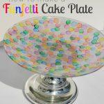 Funfetti Cake Plate