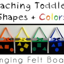 Teaching Toddlers Shape + Colors with Smart! School {House}