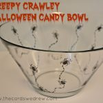 Creepy Crawley Halloween Candy Bowl