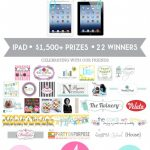 DimplePrints 4 Year Anniversary Apple iPad Giveaway!