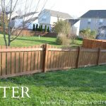 Staining My Fence with Flood Stain