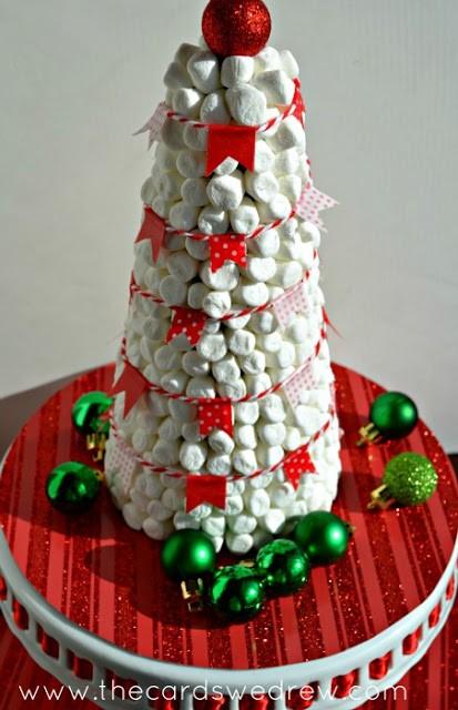 Hot Cocoa Bar Marshmallow Christmas Tree Decor The Cards