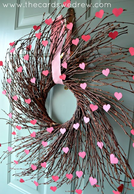 how to make a willow heart
