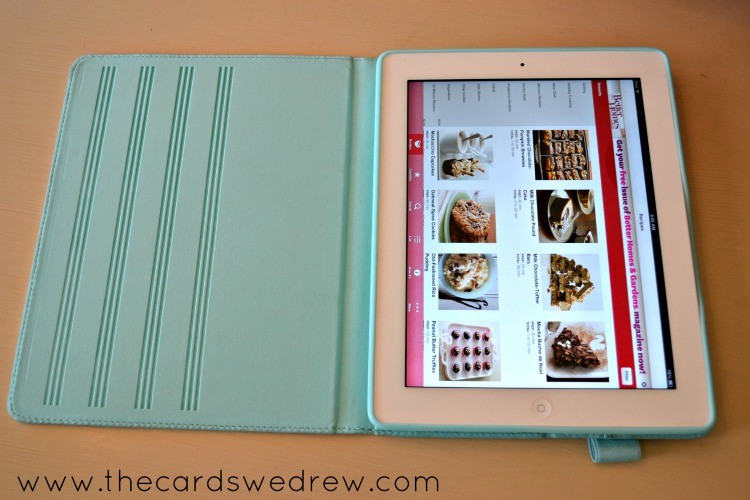 martha stewart ipad case