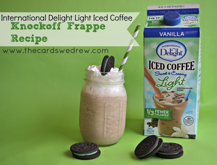 International Delight Light Iced Coffee Recipe