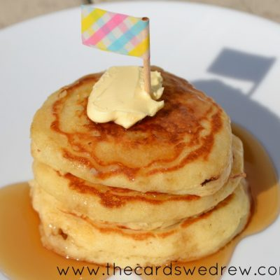 Mini Buttermilk Pancake Stacks
