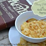 Cheesy Potatoes with Crunchy Kettle Chip Topping