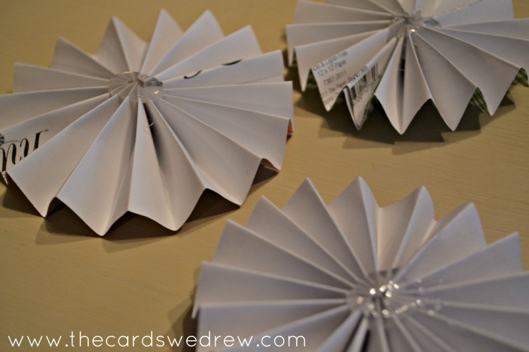 glue your pinwheel together