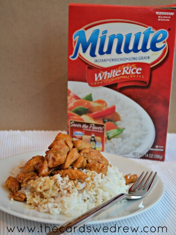 minute rice spicy chicken stirfry