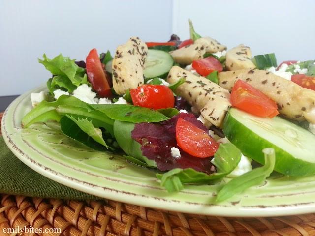 Chicken Souvlaki Salad 7b