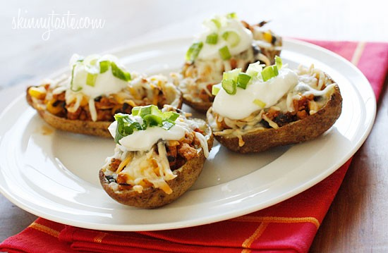 Loaded-Turkey-Santa-Fe-Baked-Potato-Skins