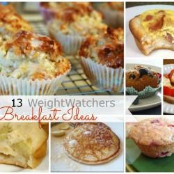 WeightWatchers Breakfast Ideas Collage