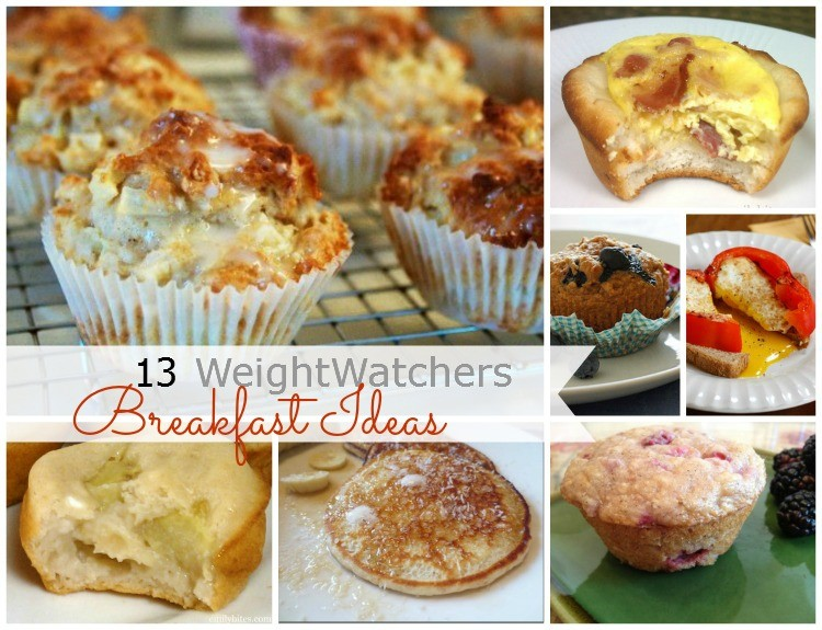 WeightWatchers Breakfast Ideas Collage