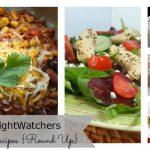 10 WeightWatchers Lunch Ideas {Round Up}