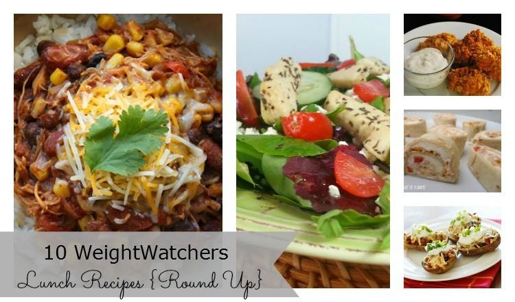 WeightWatchers Lunch Recipe Ideas Round Up Post