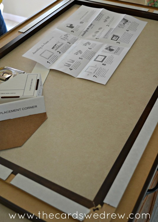 assembling the mirrormate frame