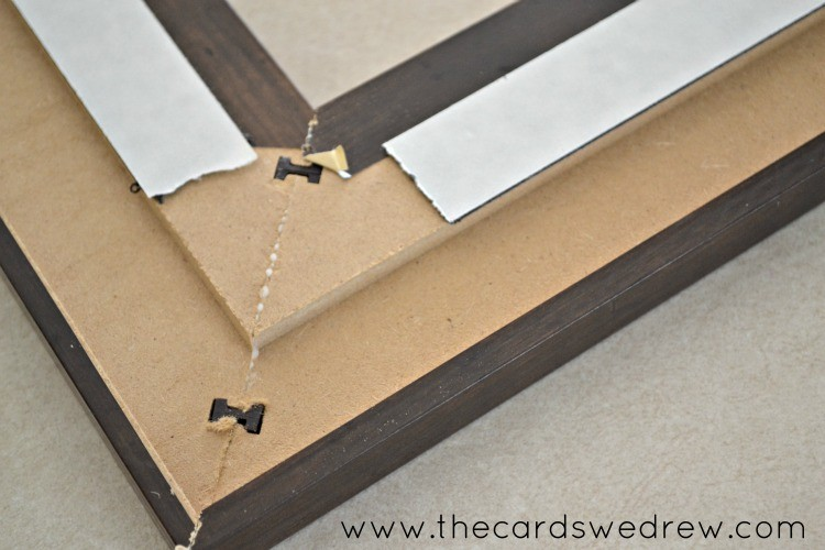 Joining Mdf Frame At The Corners