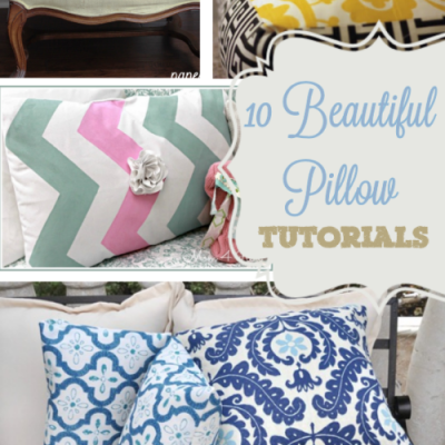 Guest Post from Diana at The Girl Creative: 10 Pillow Tutorials Round Up