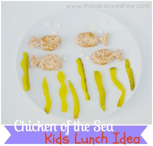Chicken of the Sea Kids Lunch IDea