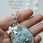 Vintage Glam Silver Pendant Necklace using Martha Stewart Jewelry Collection