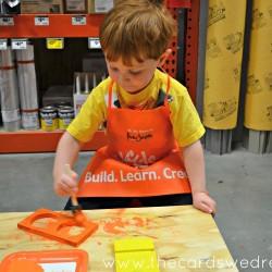 Home Depot Kids Workshop 4