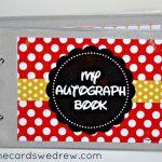 DIY Disney Autograph Book + Free Printable