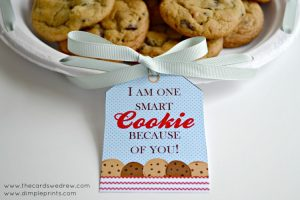 One Smart Cookie Tag