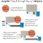 Silhouette Chipboard Promotion