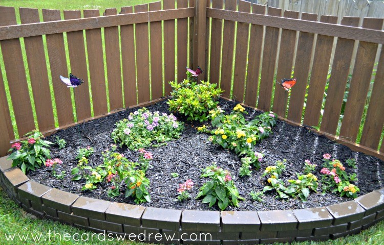 Butterfly Garden Makeover After