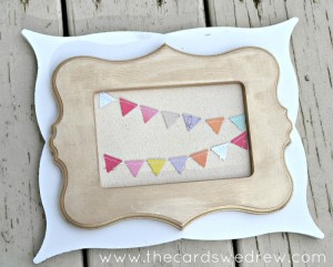 layered pennant frame tutorial