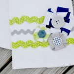 Blog Wars Round Two Results and my Riley Blake Hand Towel