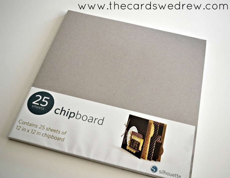 silhouette chipboard