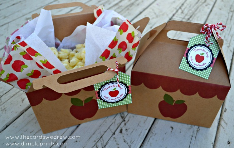 teacher appreciation popcorn gift