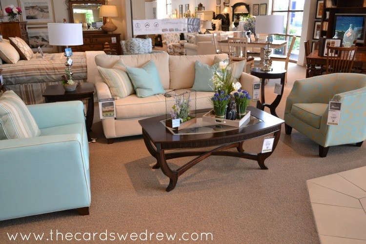 My Thoughts on Furniture Shopping and Trip to Havertys - The Cards