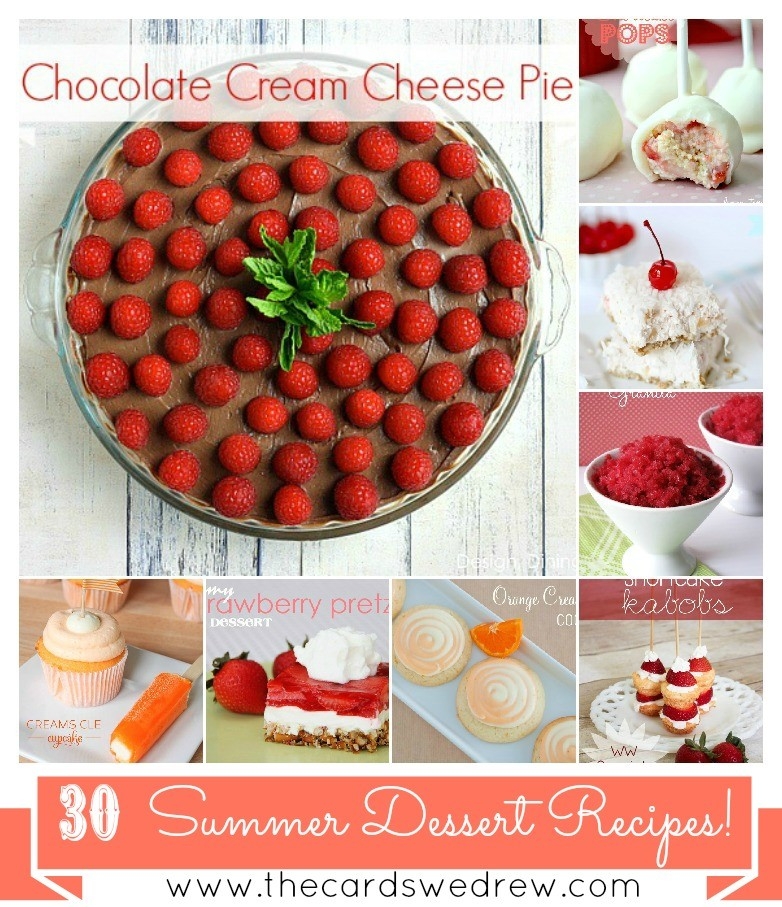 30 Summer Dessert Recipes