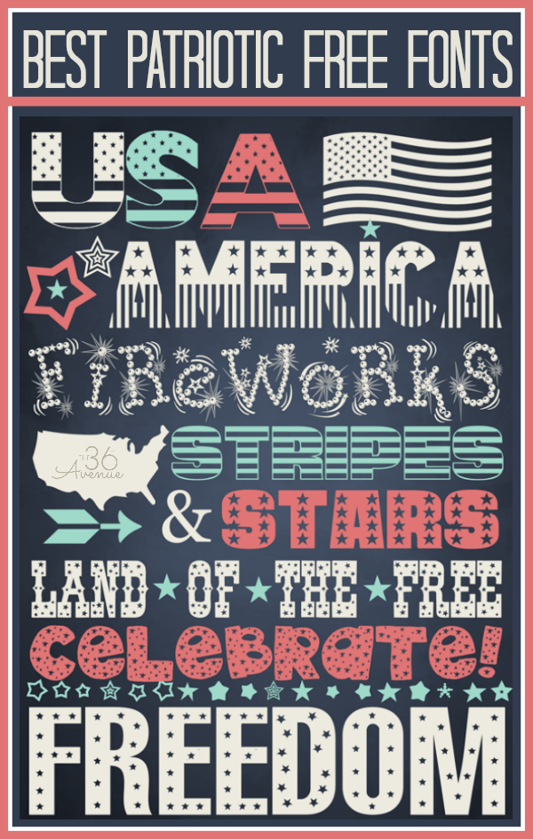 4th-of-July-Free-Fonts