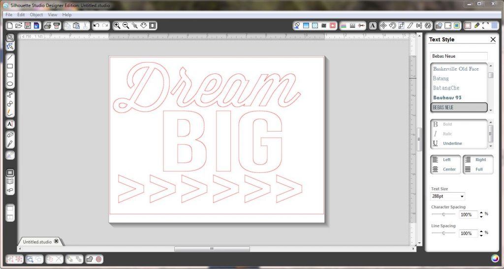Dream Big Capture