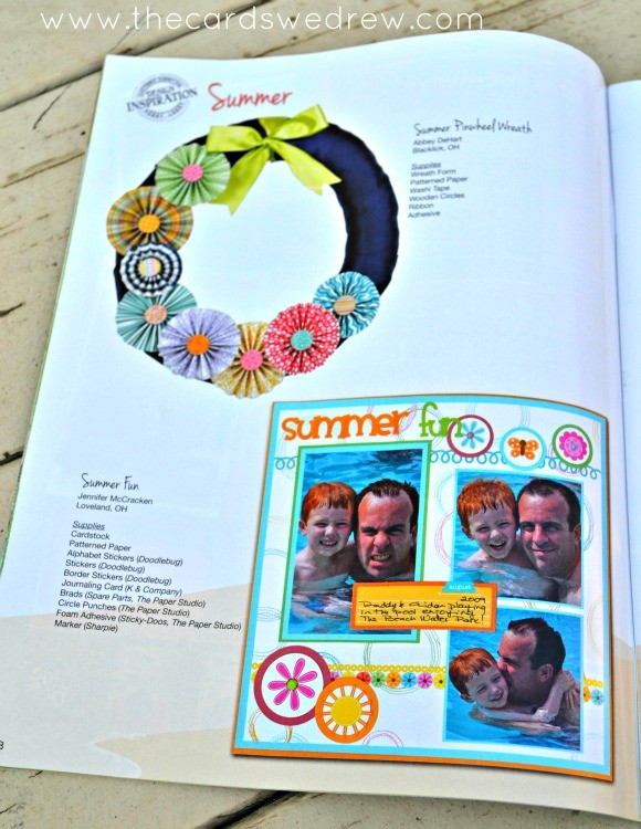Featured In Hobby Lobbys Stamping Stationery And Scrapbooking