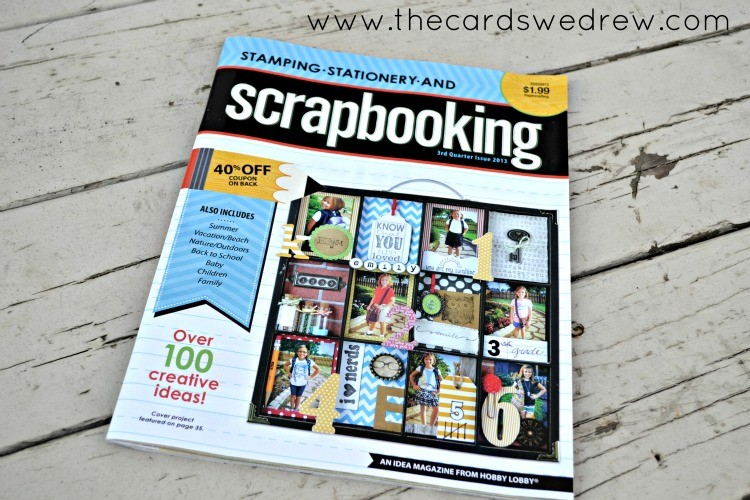 Stamping Stationery and Scrapbooking Magazine Feature