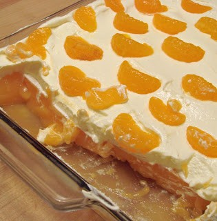creamy mandarin orange jello salad