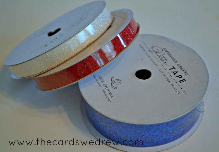 glitter tape from american crafts
